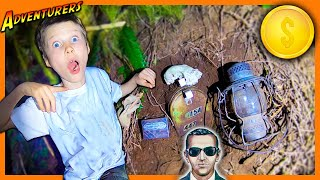 DB COOPER SURVIVAL CHALLENGE! - MYSTERY EVIDENCE & TREASURE FOUND
