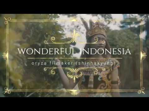 the culture of BORNEO INDONESIA (BUSAN SOUTH KOREA) WONDERFUL INDONESIA