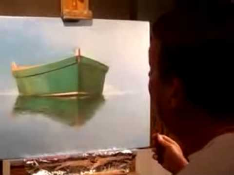 Natick painter Rob Franco