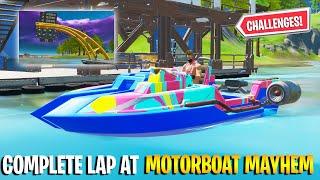 Complete a Lap aт Motorboat Mayhem - COMPLETE GUIDE (Fortnite Chapter 2 Season 3)