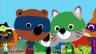 Mouk - The super heros (New York - USA) | Cartoon for kids
