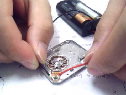 Spindle motor of 1 micro drive manual drive test youtube cheapraybanclubmaster Gallery