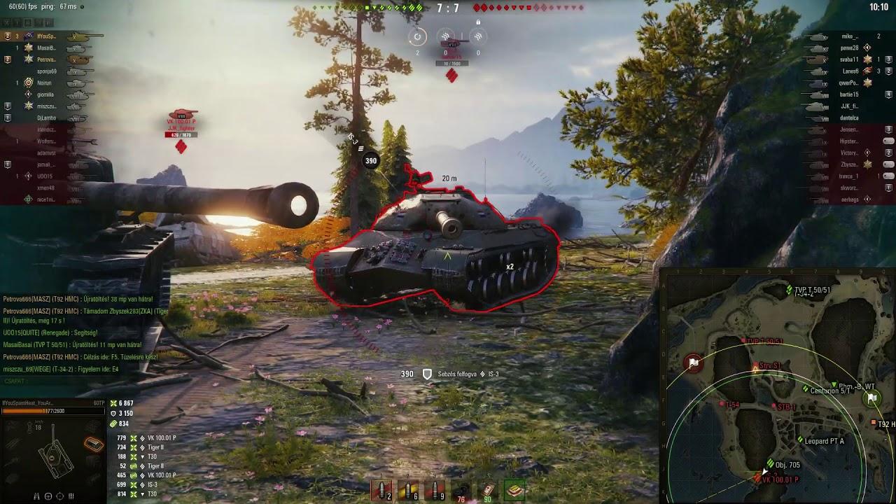 World of Tanks - 60 TP 10,7k damage, 6 kills