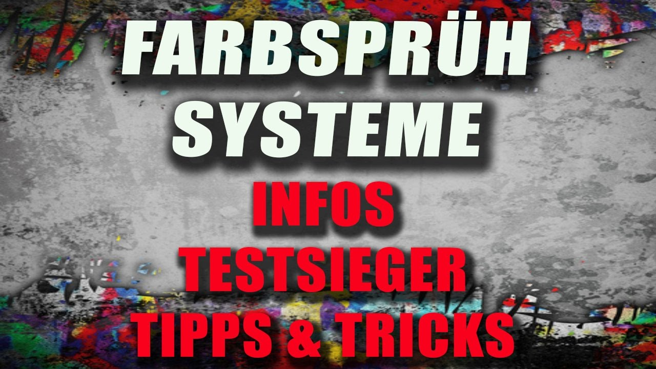 Farbsprühsystem Infos Tipps Und Testsieger Lackierpistoleorg