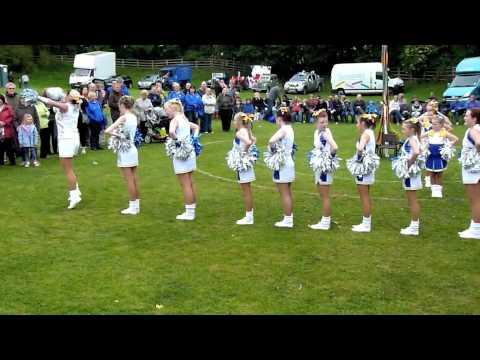 Rising Stars Majorettes at Barwick Maypole Festival