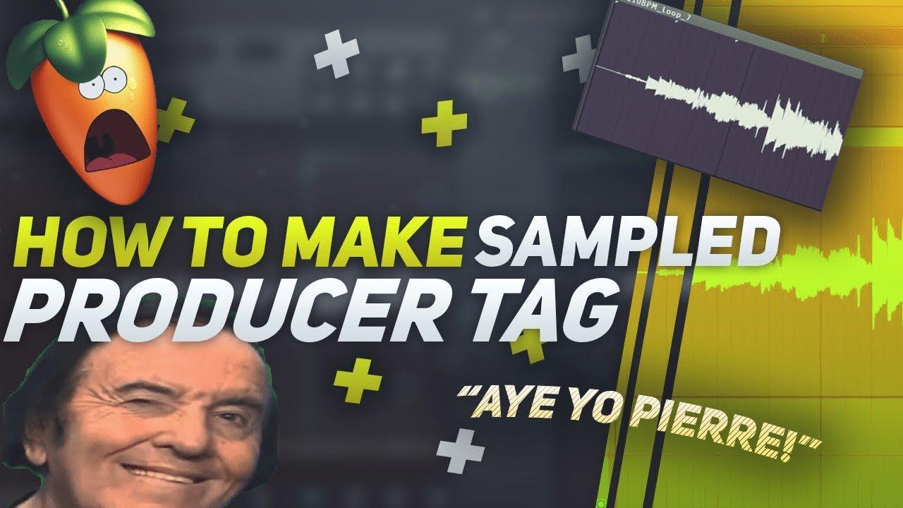 HOW TO MAKE A SAMPLED PRODUCER TAG | Fl Studio 20 Tutorial