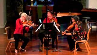 Antonin Dvorak, Miniatures, Op. 75a, two violins and viola
