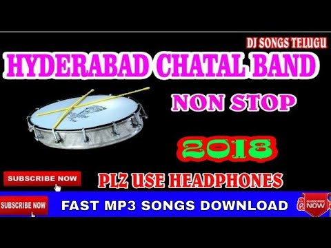 Hyderabad Chatal Band Music Non Stop|Dj Songs Telugu|TeenMaar Music Download|#sHEKHARDJSONGSTELUGU#7