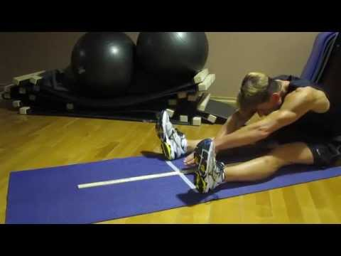 Sit-and-Reach Test Flexibility