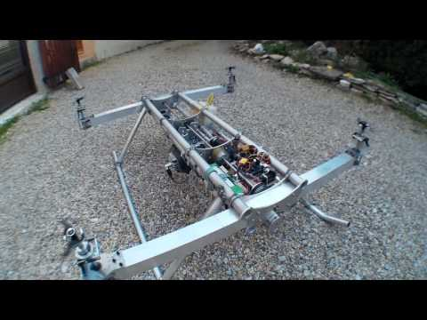 Eoxs Multicopt - Heavy Lift Gas Engine Quadcopter – New Landing Gear
