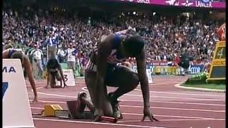 Les Françaises championnes du monde du 4x100m (Paris 2003)