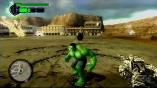 The Incredible Hulk: Ultimate Destruction PlayStation 2