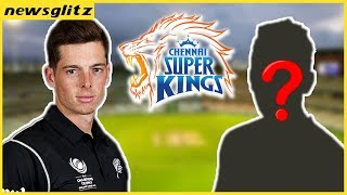 Mitchell Santner Replaced with .. ?   Update in Chennai Super Kings Team   IPL 2018