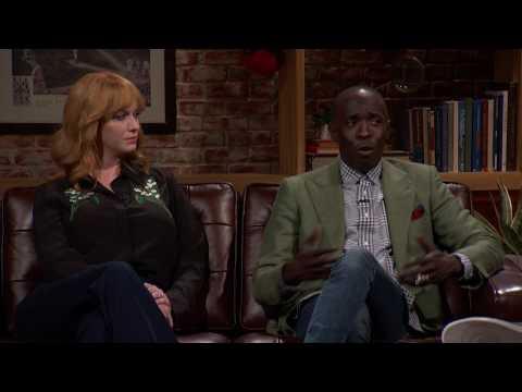 Christina Hendricks and Michael K. Williams on Typecasting (HBO)