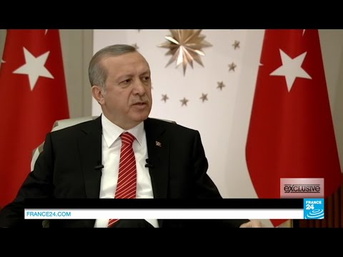Exclusive interview with Turkish president Recep Tayyip Erdo