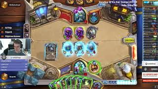 Thijs with a cool Taunt N'zoth Hadronox Druid (The Frozen Throne)