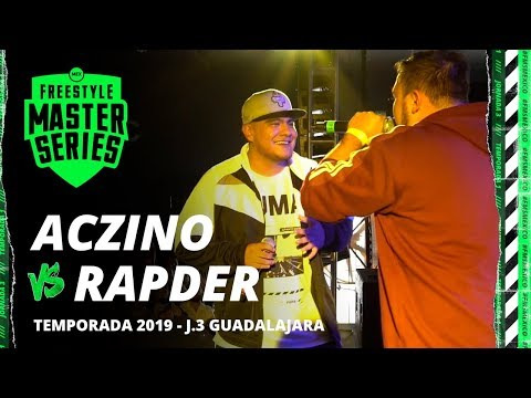 ACZINO VS RAPDER FMS MÉXICO JORNADA 3 OFICIAL - Temporada 2019.