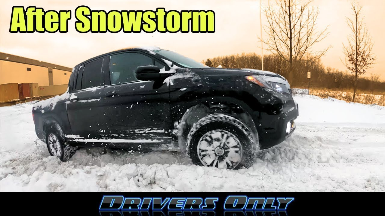 Honda Ridgeline Off Road >> Honda Ridgeline Off-Road Testing after SNOWSTORM - Can It ...