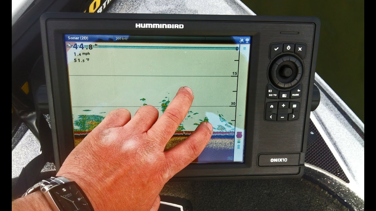 tips 'n tricks 113: first hour with humminbird onix - youtube, Fish Finder