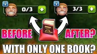 """ALL UPGRADE FINISHED WITH ONE """"BOOK OF EVERYTHING""""? 