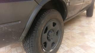 Pneus Ecosport Dayton Timberline Bridgestone Montados