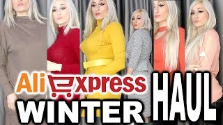 AWESOME ALIEXPRESS FINDS?! -- Winter clothes Haul!! #108