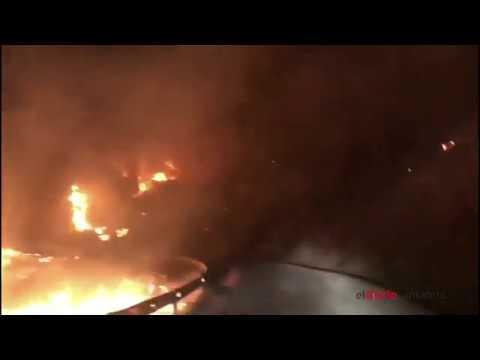 Así se ha vivido en primera persona el incendio en Liébana
