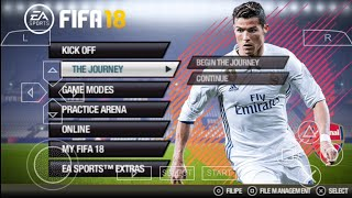 FIFA 18 Android 800 MB Offline Best Graphics