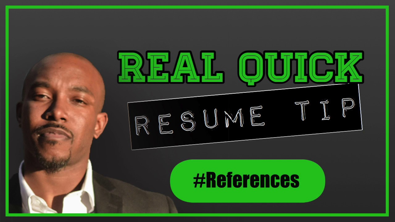 Should You Put Your References In Your Resume? - YouTube