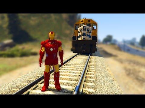 IRON MAN MOD - Grand Theft Auto 5 - MODY 9