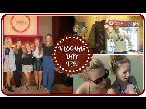Girls Night & Throwing Ice Cream  VLOGMAS