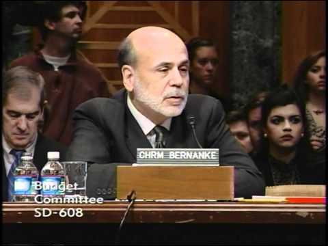 Senator Johnson Questions Chairman Bernanke at Senate Budget Committee Hearing