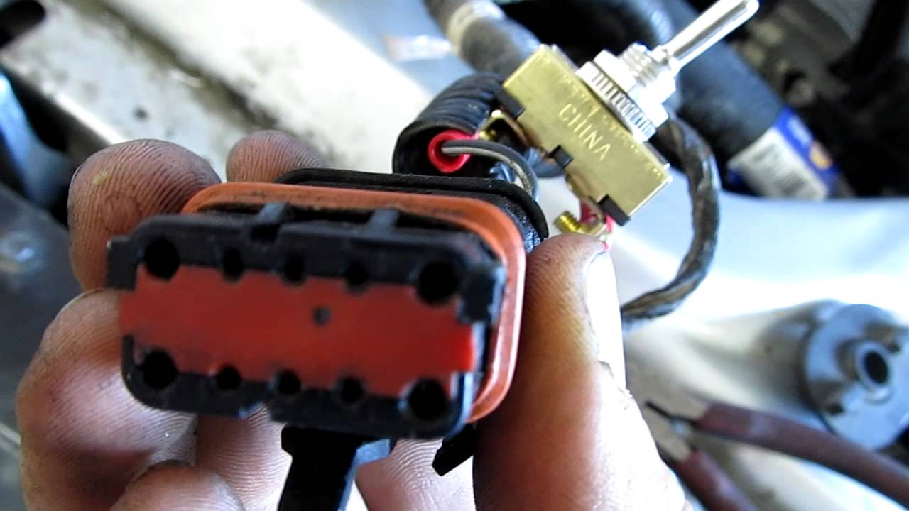 maxresdefault bypassing neutral safety switch, chrysler sebring 2000 youtube Switch Leg Wiring with Neutral at mr168.co