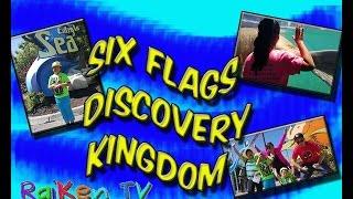 Part 1: Six Flags Discovery Kingdom family fun outdoor activities sea creatures RaiKenTV