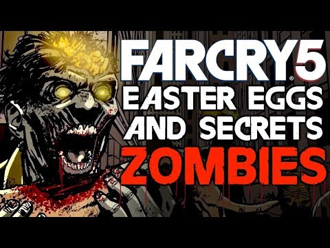 FAR CRY 5 ZOMBIES All Easter Eggs And Secrets | Part 5