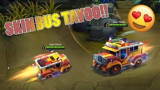 Johnson new skin, Jadi BUS TAYO!! haha