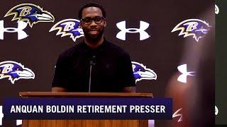 Anquan Boldin's Full Retirement Press Conference | Baltimore Ravens