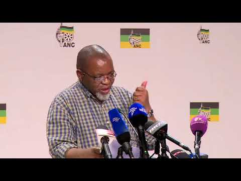 ANC ready for conference; Mantashe
