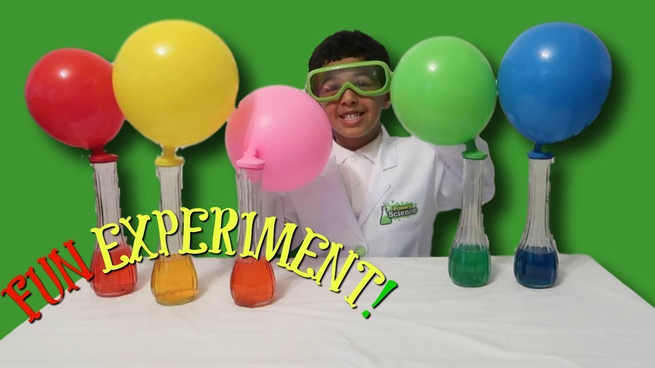 Baking Soda and Vinegar Easy Science Experiments for Kids Colorful ...