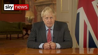 In full: Boris Johnson's coronavirus address to the nation