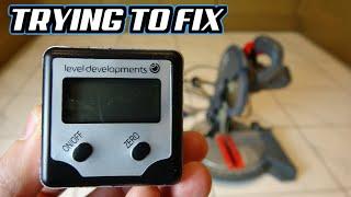 Broken Professional Digital Inclinometer - Trying to FIX