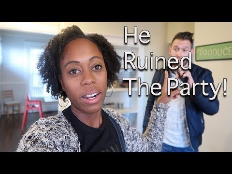 HE RUINED THE PARTY | Britt's Space | A Vlog