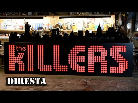 DiResta Sign 4 The KILLERS