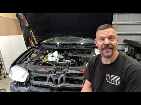 VW TDI BEW injector removal