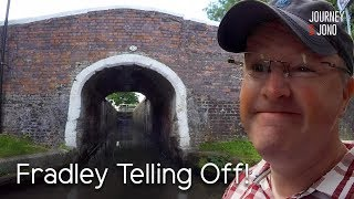 79. I get a telling off from an Angry Boater at Fradley Junction!