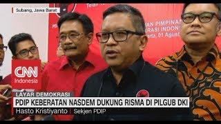 PDIP Keberatan Nasdem Dukung Risma di Pilgub DKI 2020