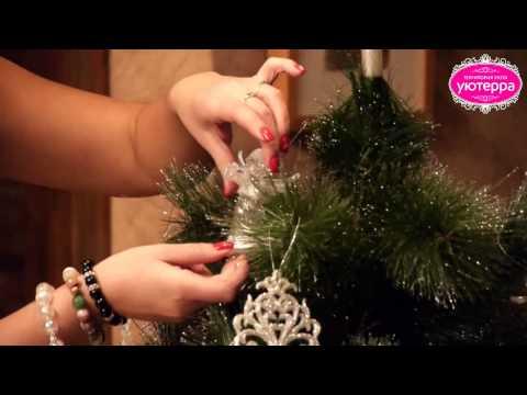 Как нарядить, украсить, новогоднюю Ёлку. Три примера