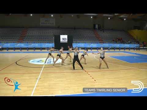 NBTA Europe Competition Twirling Lignano 2019 Twirling Team Senior - Belgium