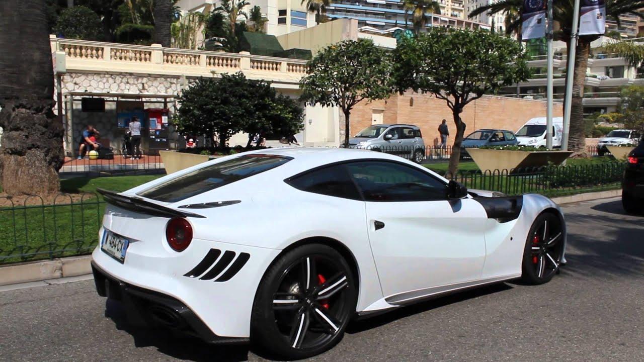 Ferrari F12 Interior >> Mansory Stallone Ferrari F12 Berlinetta Ride in Monaco - YouTube