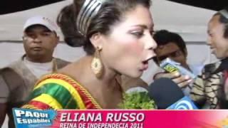 REINA DE LA INDEPENDENCIA DE CARTAGENA 2011, ELIANA RUSSO, BARRIO